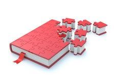 boek en puzzel