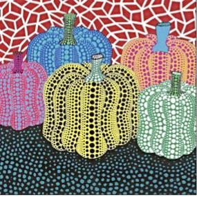 Yayoi Kusama, Pumpkin, 2005